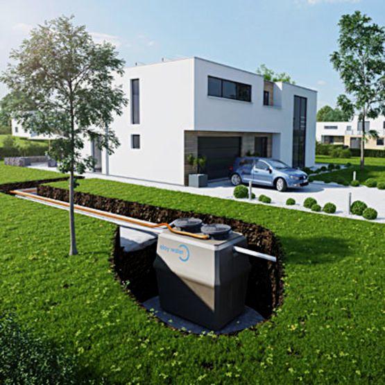 prix de l assainissement d une maison prix d 39 une microstation d 39 puration. Black Bedroom Furniture Sets. Home Design Ideas